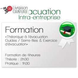 """Formation théorique """"Guides et Serre-files"""" avec exercices d'évacuation type ERP / ERT"""
