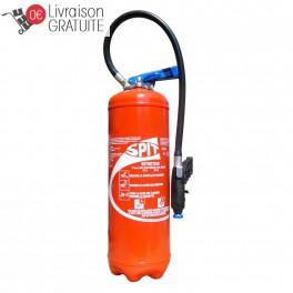 Extincteur à eau avec additif 9 Litres Eurofeu Spit GSP009 EPA